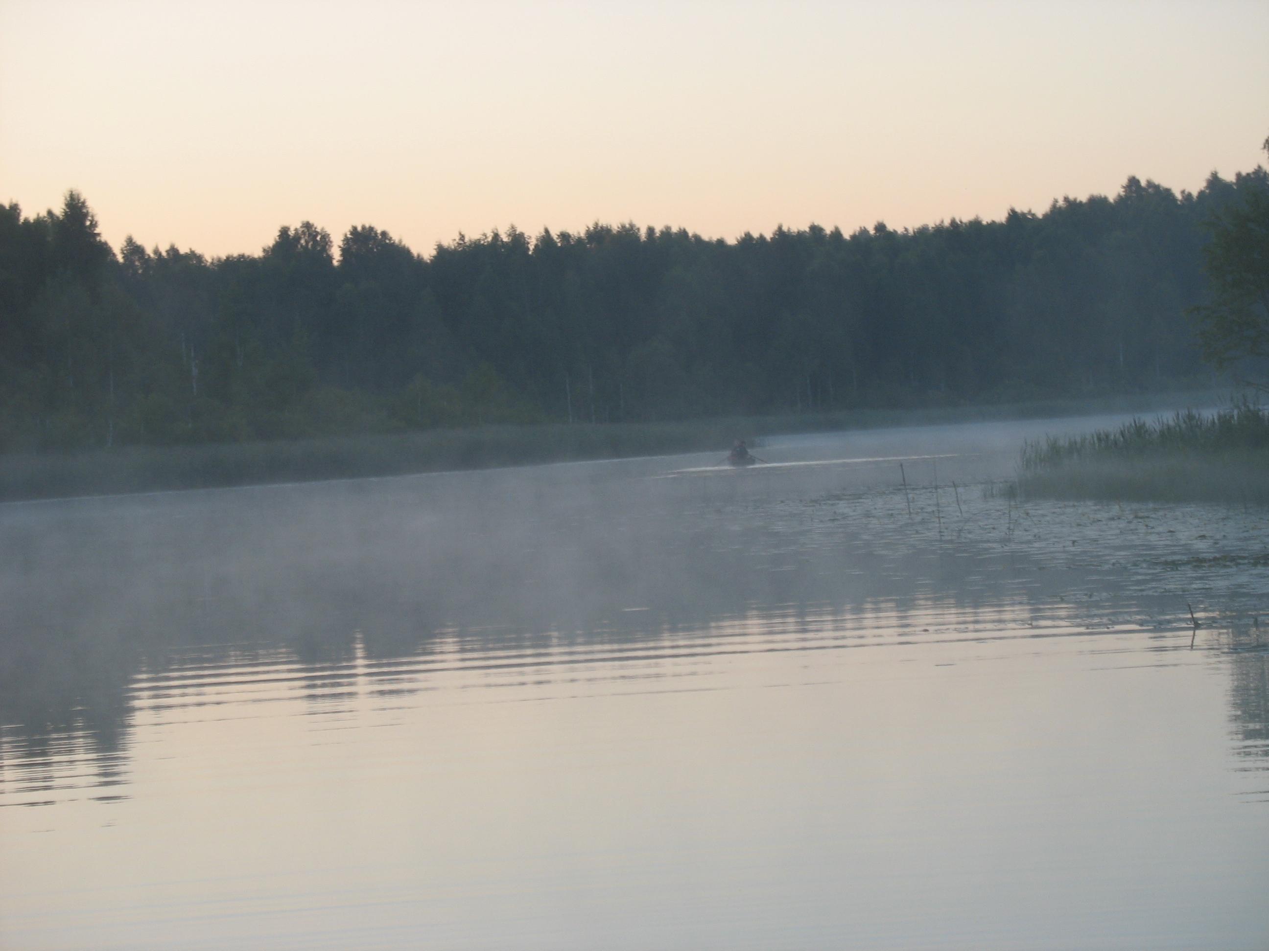 Suur Karujärv päikesetõusul