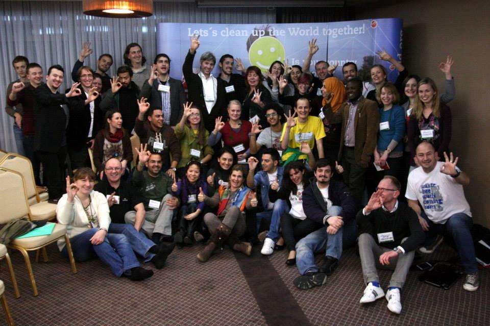 Minu inimesed. Let's Do It World! Clean World Conference Kosovas 2014. Pildil Vahemere koristuse meeskond.
